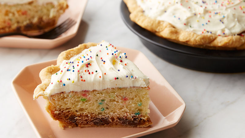 Cookie Cake Pie Recipe Tablespoon Com