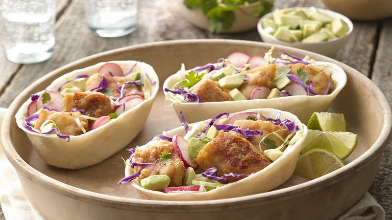 Baja style fish taco boats recipe for What to serve with fish