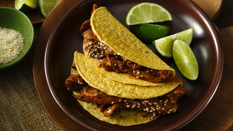 Turkey Mole Tacos