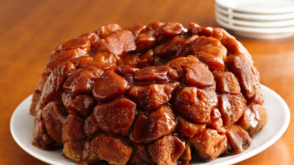 Monkey Bread With Caramel Recipe Pillsbury Com
