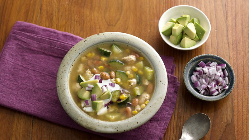 Chicken Chili With Salsa Verde Recipe Tablespoon Com