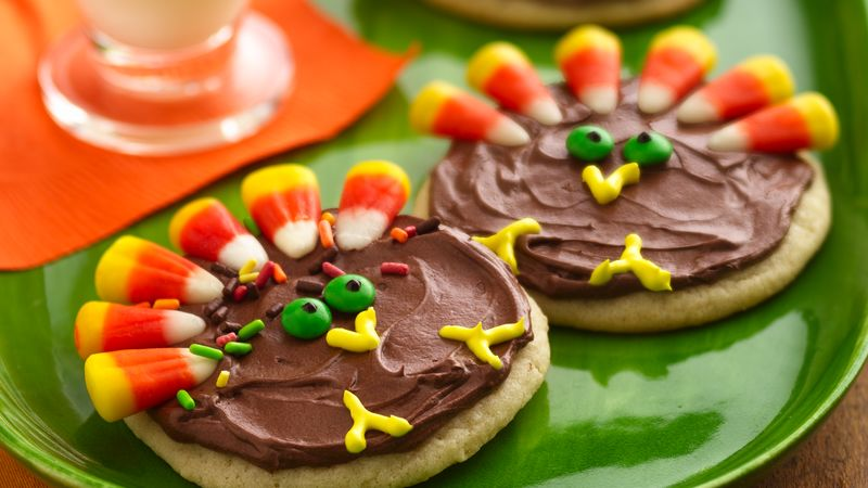Turkey Cookie Treats