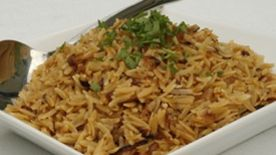 Caramelized Onion Orzo
