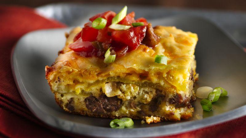 Easy Chile Relleno Bake