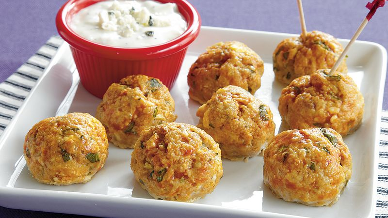 Fiery Chicken Meatballs