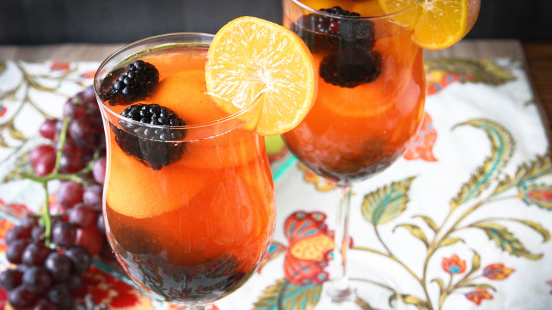 Clementine Blackberry Sangria