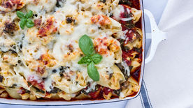 Pasta and Mini Meatball-Stuffed Pasta Shells