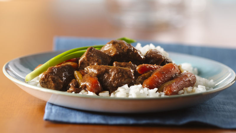 Slow Cooker Korean Beef Stew Recipe Bettycrocker Com