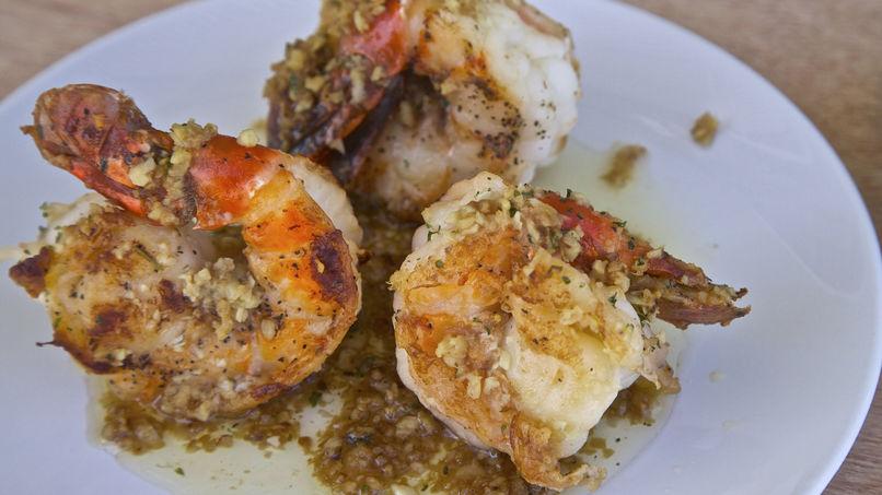 Mojo de Ajo Shrimp