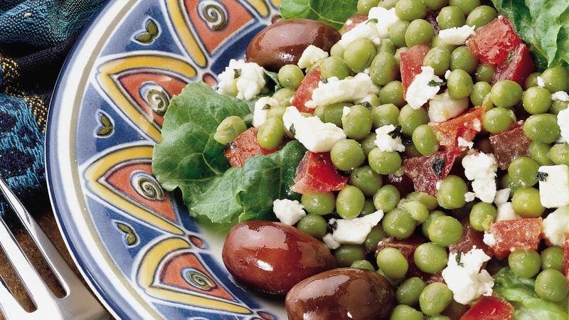 Mediterranean Minted Peas