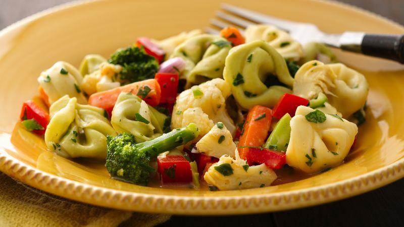 Easy Tortellini Vegetable Salad
