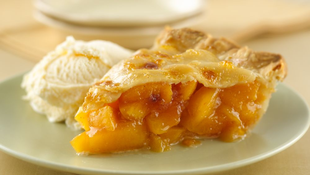 Peach Pie recipe from Pillsbury.com