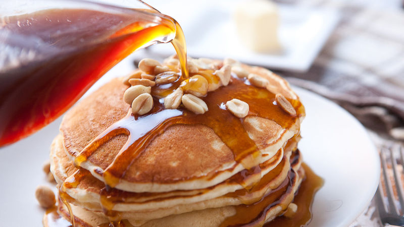 Easy Pancakes From Scratch With Jack Daniel S Syrup Recipe Tablespoon Com