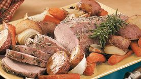 Oven-Roasted Pork and Vegetables
