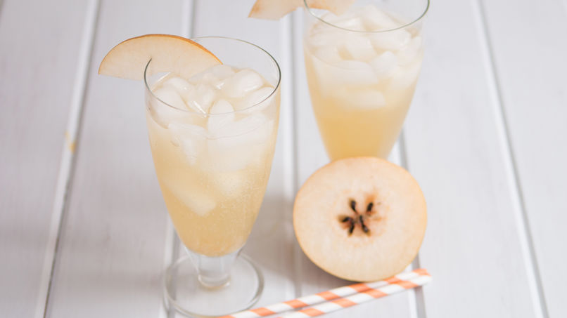 Asian Pear Sparkler