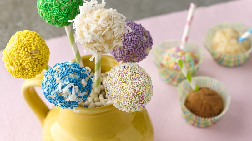 Paletas de pastel de Piña Colada
