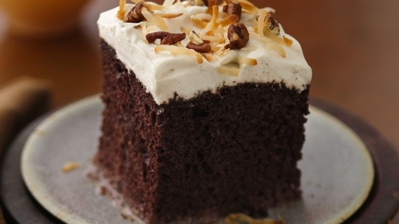 Chocolate Rum Cake Recipe BettyCrockercom