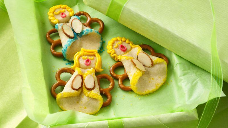 Almond Angel Cookies