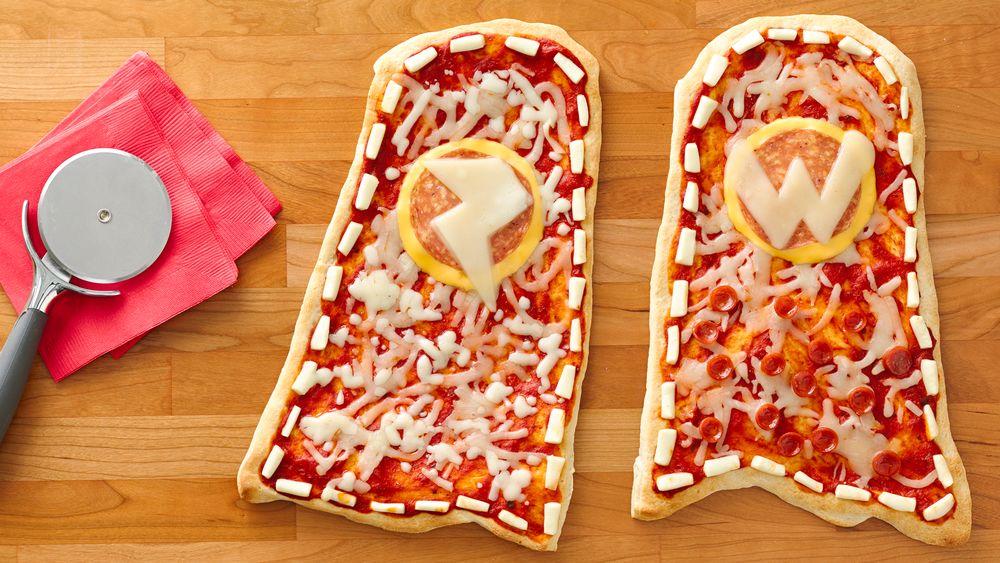 Super Hero Capes Pizzas