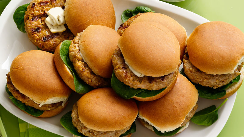 Turkey Sliders with Quinoa