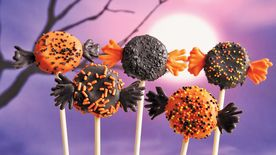Trick or Treat Cake Pops