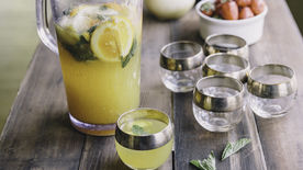 Bourbon Spiked Lemonade