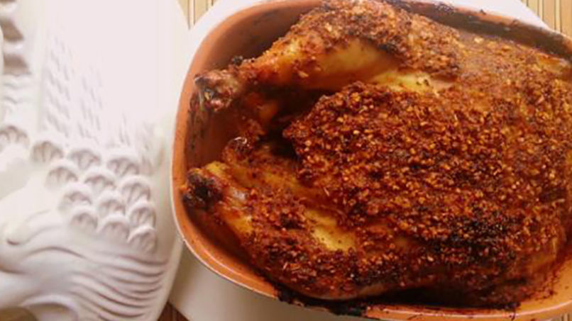 How to Make Oven-Roasted Chicken with a Mustard Glaze