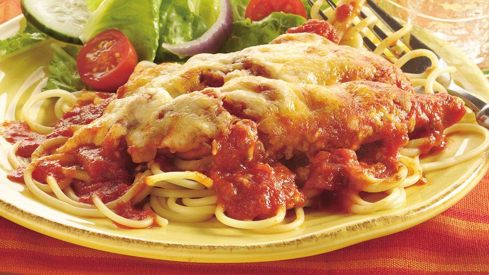 Cheesy Italian Chicken Bake