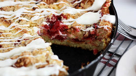 Cherry Cheesecake Bread Pudding