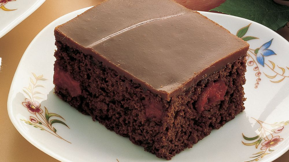 Chocolate Fudge Cake With Pudding Mix