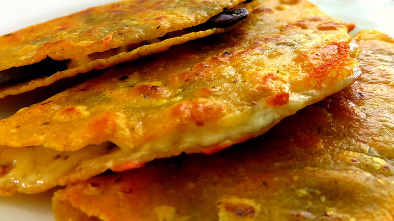 Tacos Fritos de Champiñones