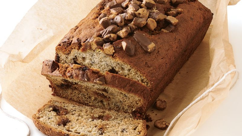 Reese's™ Peanut Butter Cup Banana Bread