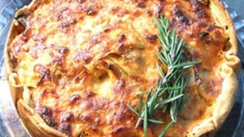 Potato Gratin with Rosemary Crust