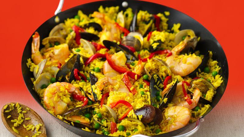 Recipes seafood paella easy