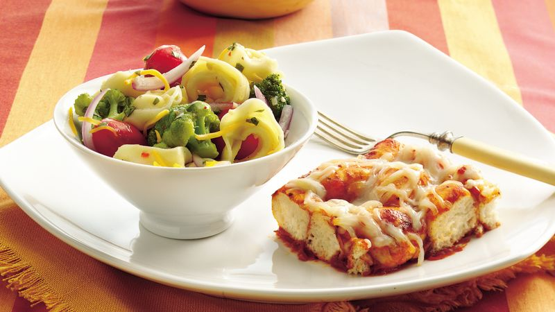 Cheesy Tortellini Salad