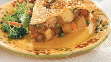 Winter Warm-Up Beef Pot Pie