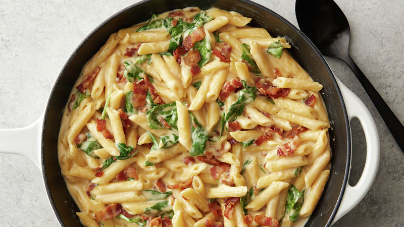 One-Pot Smoky Bacon Mac and Cheese