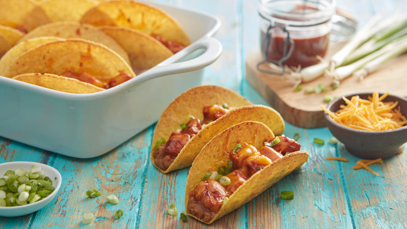 Oven-Baked Barbecue Pork Tacos