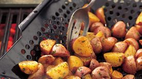 Garlic and Cumin New Potatoes