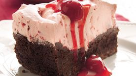 Double Chocolate-Cherry Torte