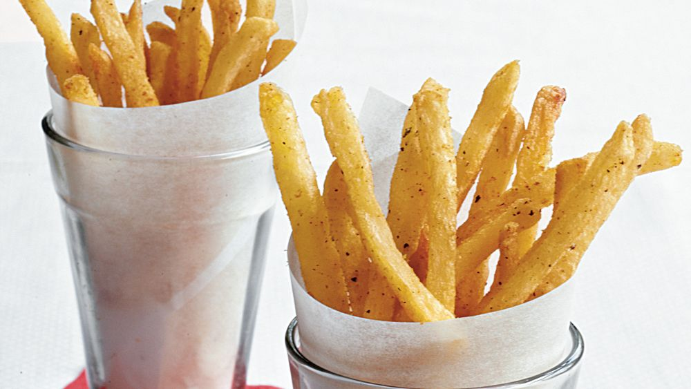 Easy Garlic-Sage Pommes Frites