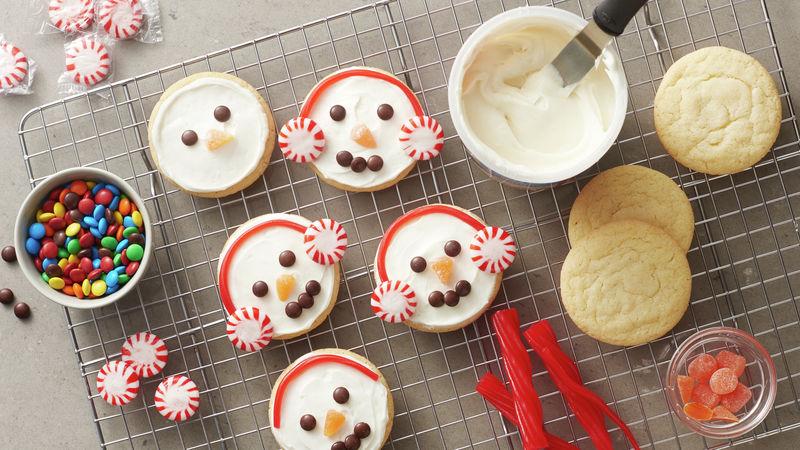 Easy Snowman Cookies