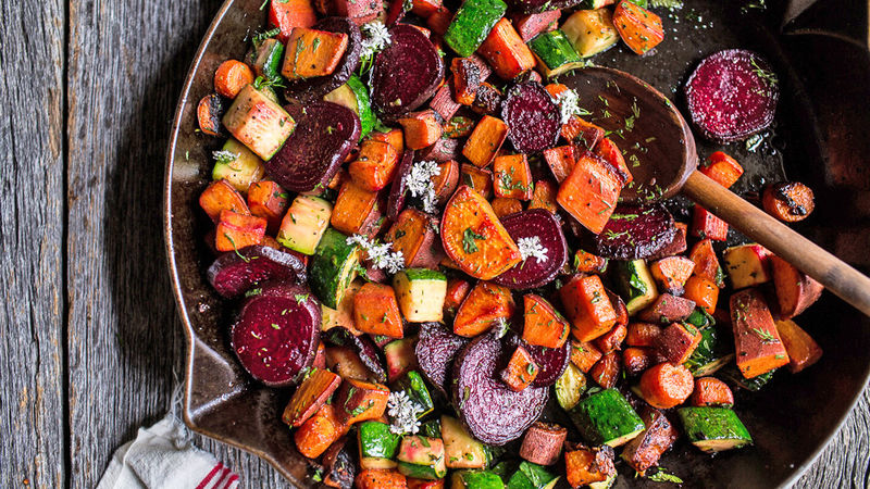 Root Vegetable Hash for Weekend Brunch Warriors