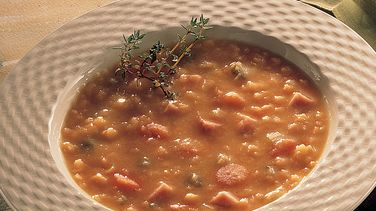 Golden Split Pea Soup