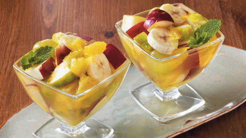 Mimosa Fruit Cups Recipe