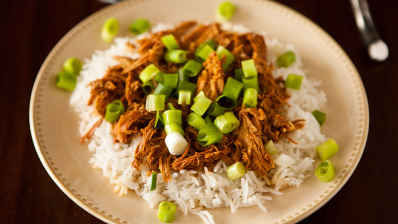 Slow-Cooker Bourbon Chicken