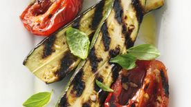 Grilled Zucchini and Tomatoes
