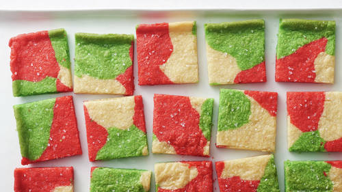 Marbled Sugar Cookie Squares