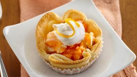 Orange Dream Mini Ice Cream Pies