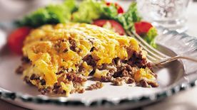 Impossibly Easy Cheeseburger Bake (Cooking for 2)